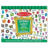 Melissa & Doug - Alphabet & Numbers Sticker Collection
