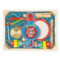 Melissa & Doug - Band-in-a-Box - Clap! Clang! Tap!