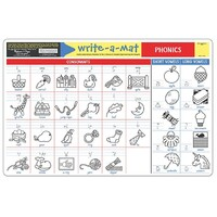 Melissa & Doug - Phonics Write-A-Mat
