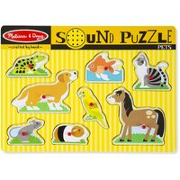 Melissa & Doug - Pets Sound Puzzle - 8pc