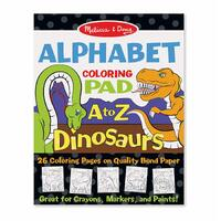 Melissa & Doug - Alphabet Colouring Pad a to Z Dinosaurs