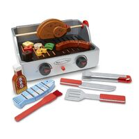 Melissa & Doug - Rotisserie & Grill Barbecue Set
