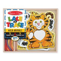 Melissa & Doug - Lace & Trace - Wild Animals