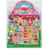 Melissa & Doug - Reusable Puffy Sticker Play Set - Fairy
