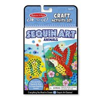Melissa & Doug - On The Go - Sequin Art - Animals
