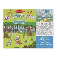 Melissa & Doug - Colour-Your-Own Sticker Pad - Animals