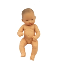 Miniland - Baby Doll Asian Girl 32cm