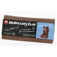 Micador Modelling Clay 500g - Brown