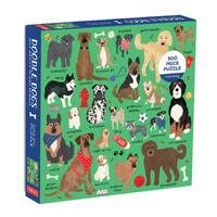 Mudpuppy - Doodle Dogs Puzzle 500pc