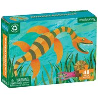 Mudpuppy  Mini Puzzle Rhomaleosaurus 48pc