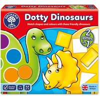 orchard toys dinosaur race instructions