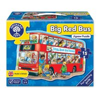 Orchard Toys - Big Bus Shaped Floor Puzzle
