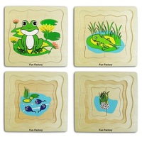 Fun Factory - Frog 4 Layer Puzzle