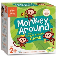 Peaceable Kingdom - Monkey Around Board Game