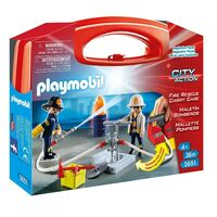Playmobil - Fire Rescue Carry Case 5651