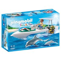 Playmobil - Diving Trip with Speedboat 6981