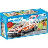 Playmobil - Emergency Car with Siren 70050