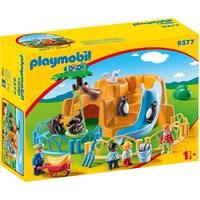 Playmobil - 1.2.3 Zoo 9377