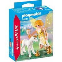 Playmobil - Sun Fairy With Unicorn Foal 9438