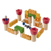 PlanToys - Castle Blocks (35 pieces)