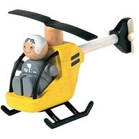 PlanToys - Helicopter With Pilot