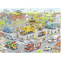 Ravensburger - Vehicles in the City Puzzle 100pc
