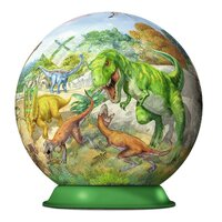 Ravensburger - Kingdom of the Dinosaurs Puzzleball 72pc