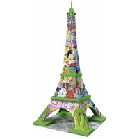 Ravensburger - Eiffel Tower 3D Puzzle Pop Art Edition 216pc