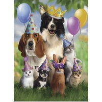 Ravensburger - Animal Party Puzzle 200pc