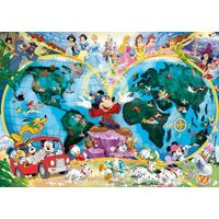 Ravensburger - Disney World Map Puzzle 1000pc