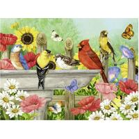 Ravensburger - Bathing Birds Large Format Puzzle 750pc