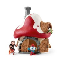 Schleich - Smurf House with Figurines 20803