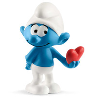 Schleich - Smurf with Heart 20817