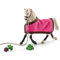 Schleich - Arab Mare With Blanket 41447