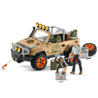 Schleich - 4x4 Vehicle with Winch 42410