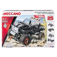 Meccano - 25 Model 4x4 Off-Road Truck Set