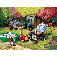 Sunsout - A Day With Grandpa Puzzle 1000pc