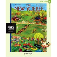 New York Puzzle Company - Horse Show Puzzle 1000pc
