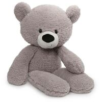 Gund - Fuzzy Grey Bear Extra Large 60cm