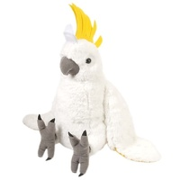 Wild Republic - Cuddlekins Sulphur Crested Cockatoo 30cm