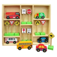 Fun Factory - Vehicles & Traffic Signs Set
