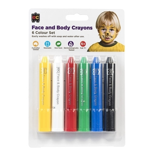 EC - Face and Body Crayons (set of 6)