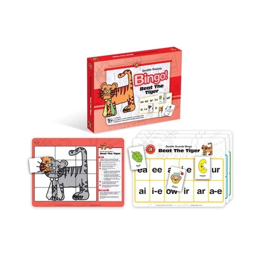 Learning Can Be Fun - Beat The Tiger Bingo - Double Sounds