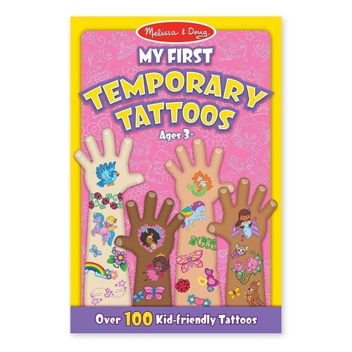 Melissa & Doug - My First Temporary Tattoos - Pink