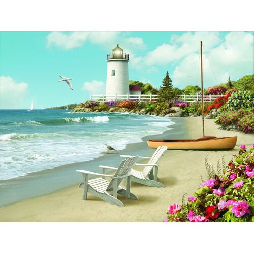 Ravensburger - Sunlit Shores Large Format Puzzle 300pc