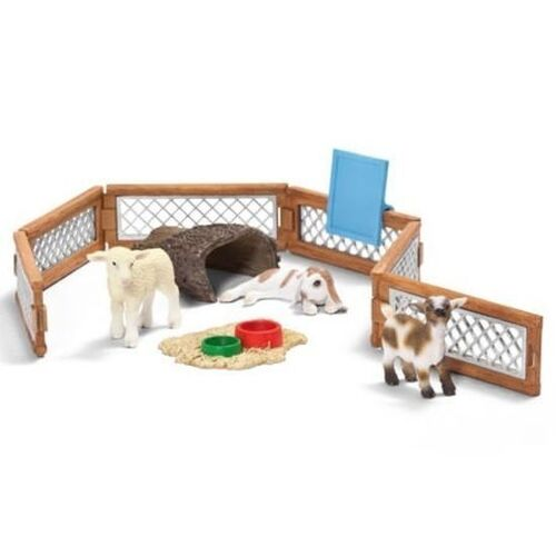 Schleich - Scenery Pack - Children's Petting Zoo 41814