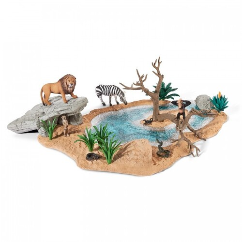Schleich - Watering Hole 42258