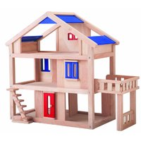 Wooden Toy Buildings